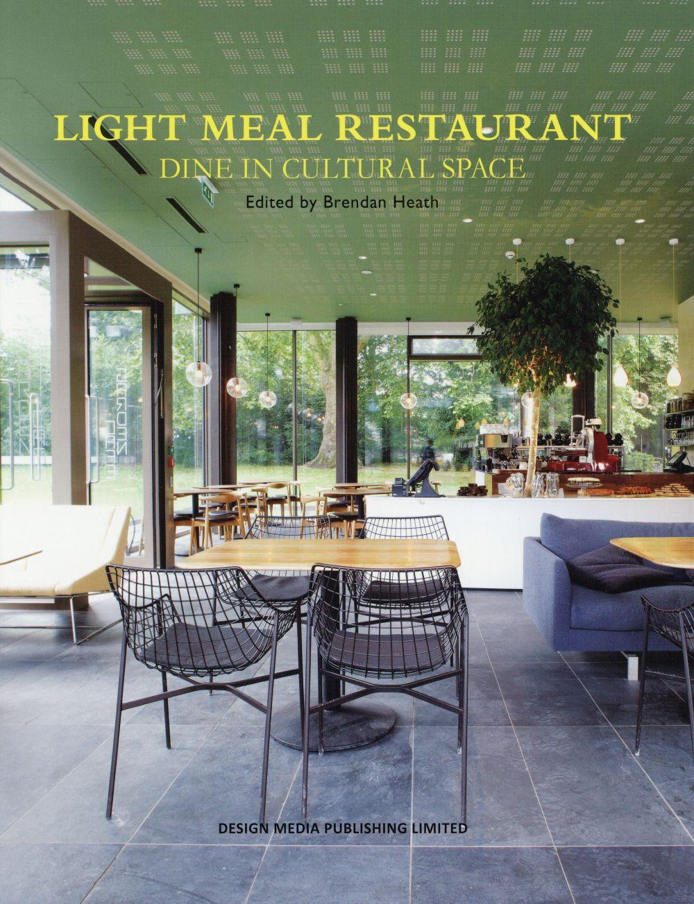 Light meal restaurant ; dine in cultural space  - Brendan Heath