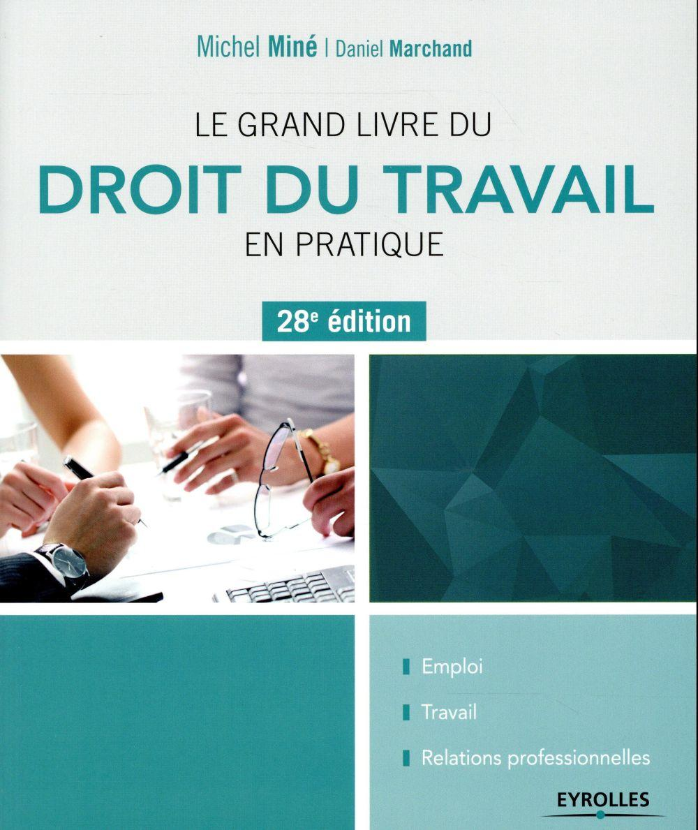 le grand livre du droit du travail en pratique dition 2016 daniel marchand michel mine. Black Bedroom Furniture Sets. Home Design Ideas