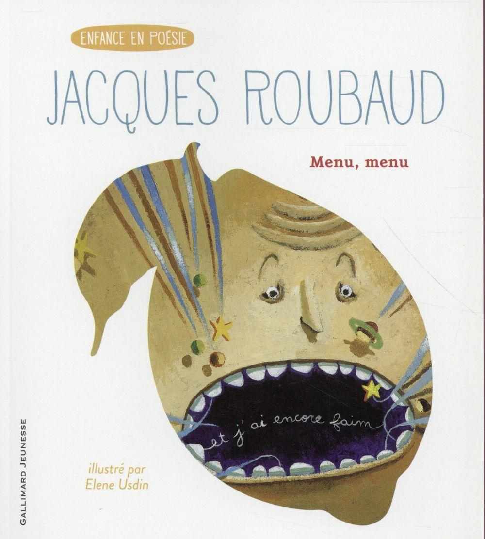 Menu, menu  - Jacques Roubaud