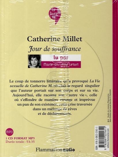Livre jour de souffrance catherine millet for Fenetre jour de souffrance