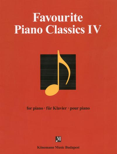 Favourite ; piano classics IV  - Collectif