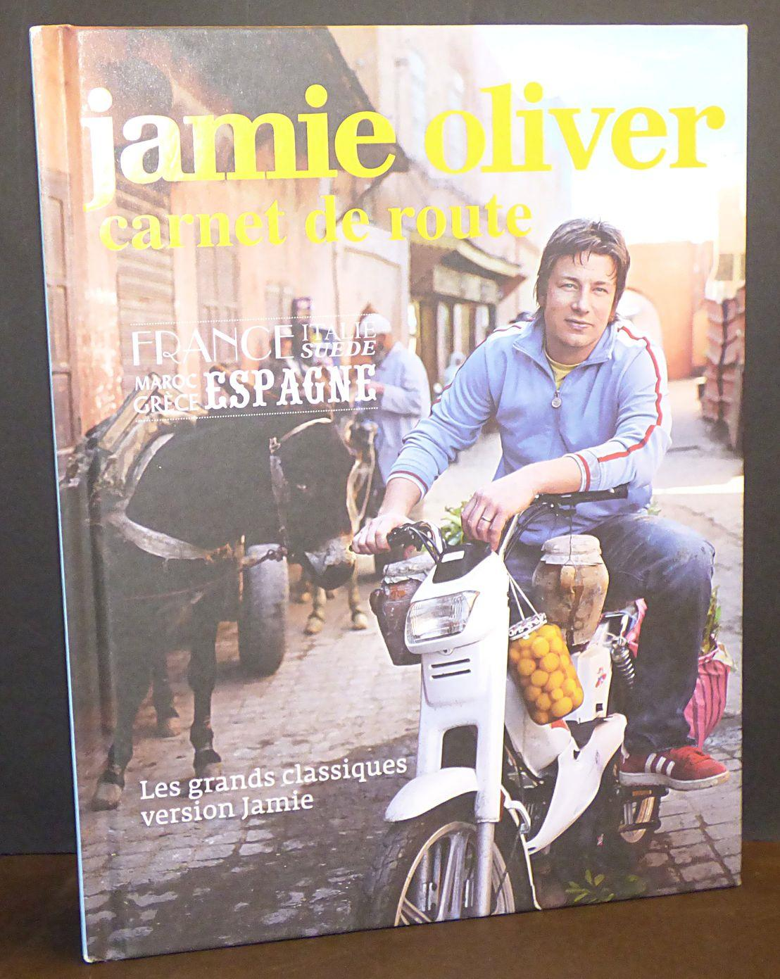 livre jamie oliver carnet de route collectif. Black Bedroom Furniture Sets. Home Design Ideas