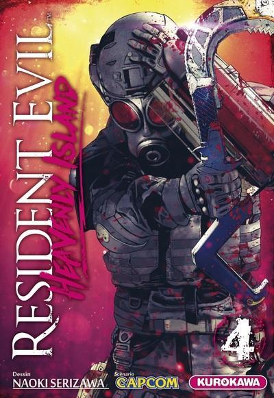 Resident evil - heavenly island - tome 4  - Capcom