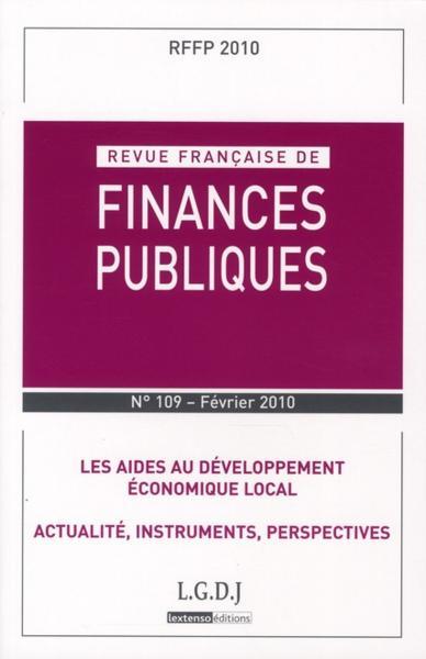 REVUE FRANCAISE DES FINANCES PUBLIQUES