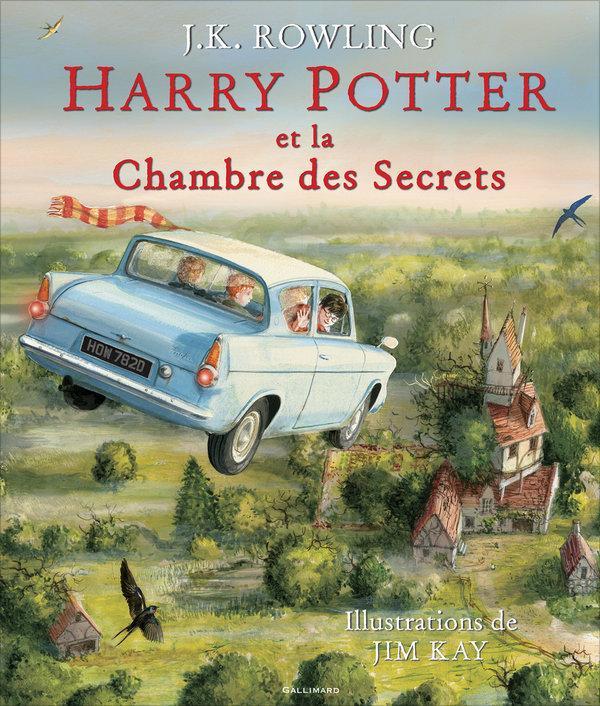 Livre harry potter t 2 harry potter et la chambre des for Regarder harry potter et la chambre des secrets