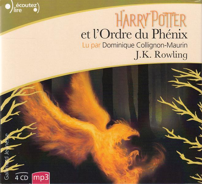potter harry ordre du phenix rowling pointculture phenix tome mp3 cd kathleen joanne