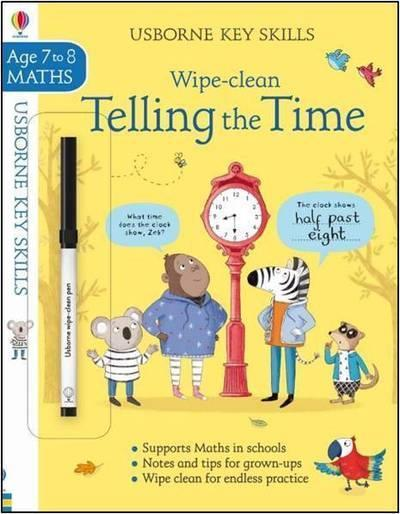 Vente  Wipe-clean ; telling the time ; key skills ; age 7 to 8  - Elisa Paganelli  - Elisa Paganelli  - Holly Bathie