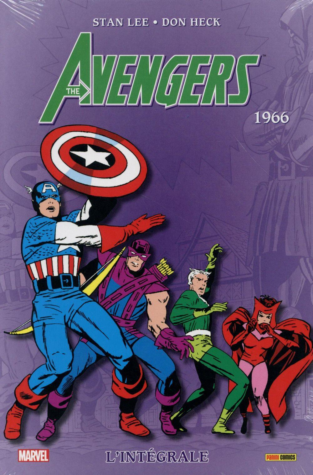 Avengers ; INTEGRALE VOL.3 ; 1966  - Don Heck  - Stan Lee