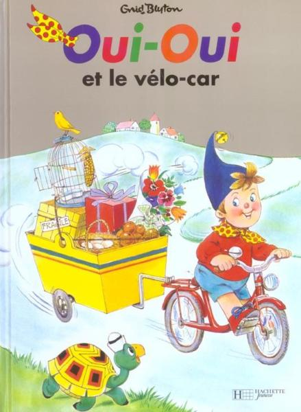 livre oui oui et le velo car enid blyton acheter occasion 25 10 1995. Black Bedroom Furniture Sets. Home Design Ideas