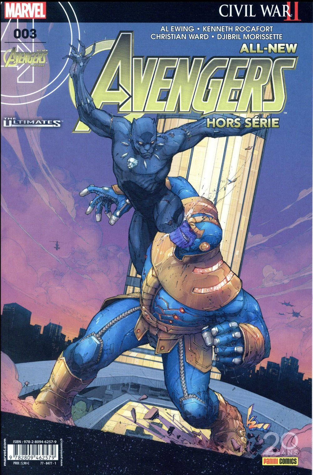 Vente Livre :                                    All-new Avengers HORS-SERIE N.3                                      - All-New Avengers