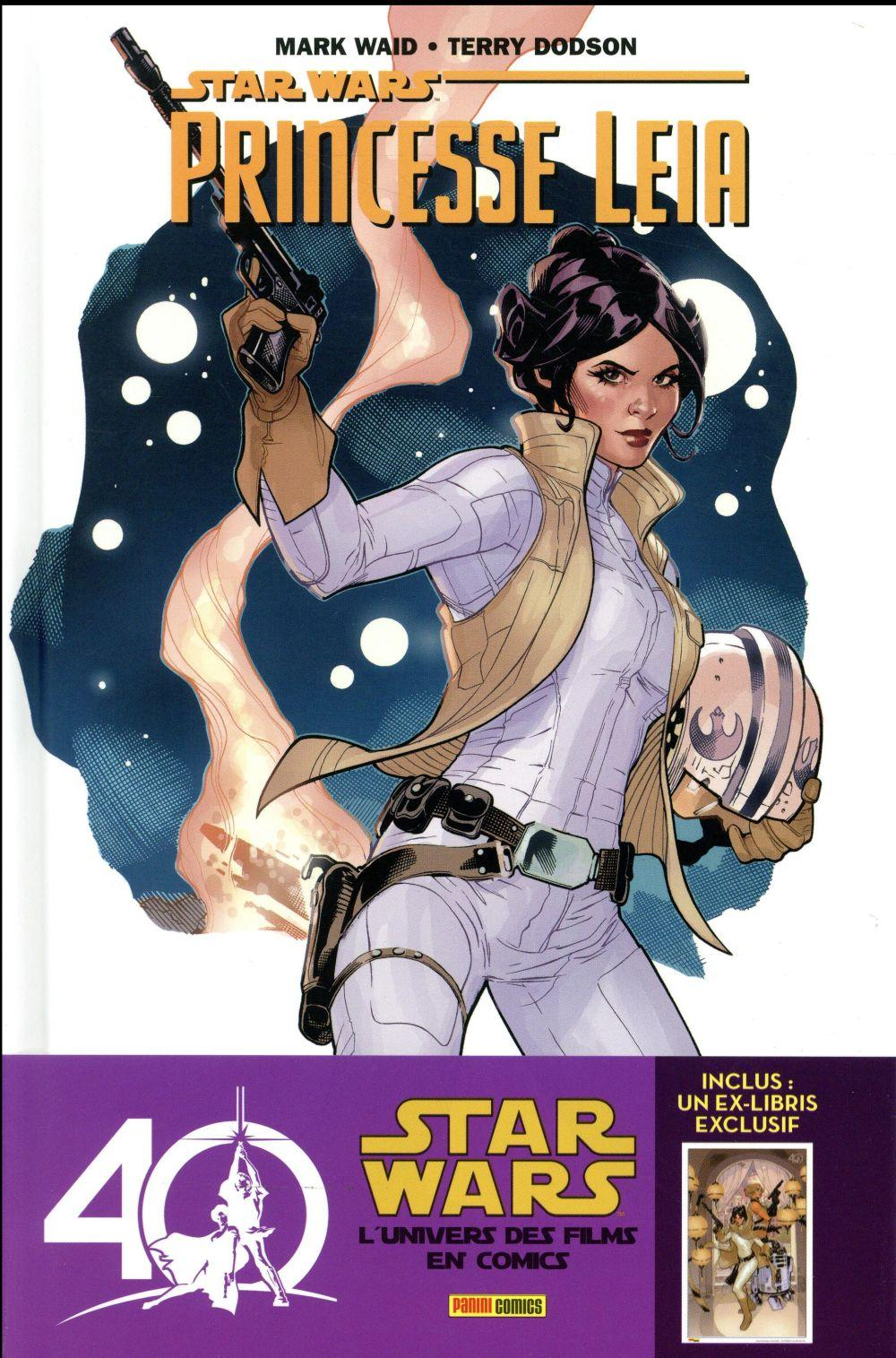 Vente Livre :                                    Star Wars - Princesse Leia T.1                                      - Mark Waid  - Terry Dodson