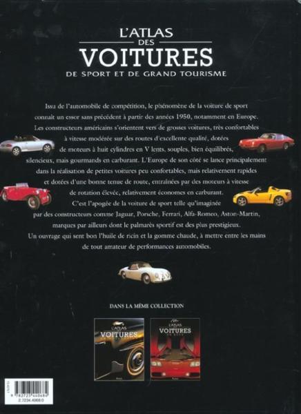 livre l 39 atlas de voitures de sport et de grand tourisme collectif. Black Bedroom Furniture Sets. Home Design Ideas