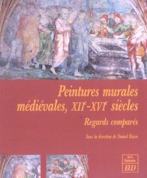 Livre peintures murales medievales xii xvi siecles for Peintures murales
