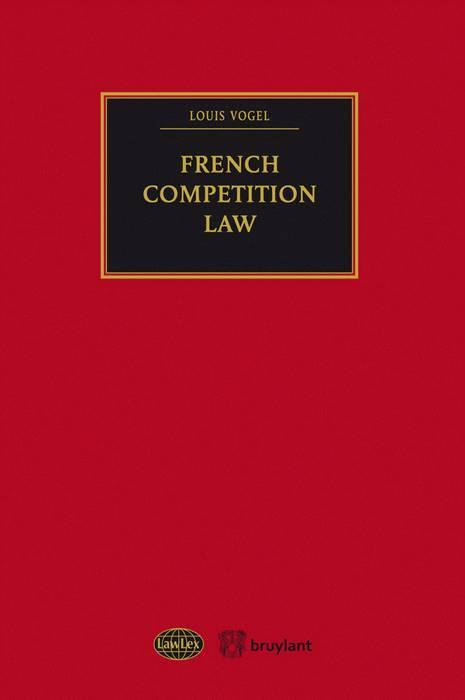 Vente  French competition law  - Louis Vogel