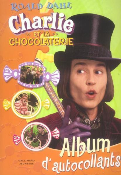 Stickers charlie et la chocolaterie - Intérieur - Format classique
