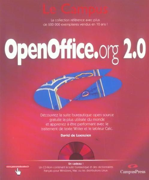 Open office.org version 2.0  - Collectif