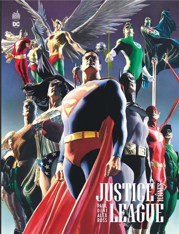 Justice League ; icônes  - Paul Dini  - Alex Ross
