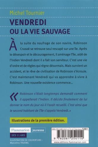 Resume Des Chapitres Du Livre Vendredi Ou La Vie Sauvage
