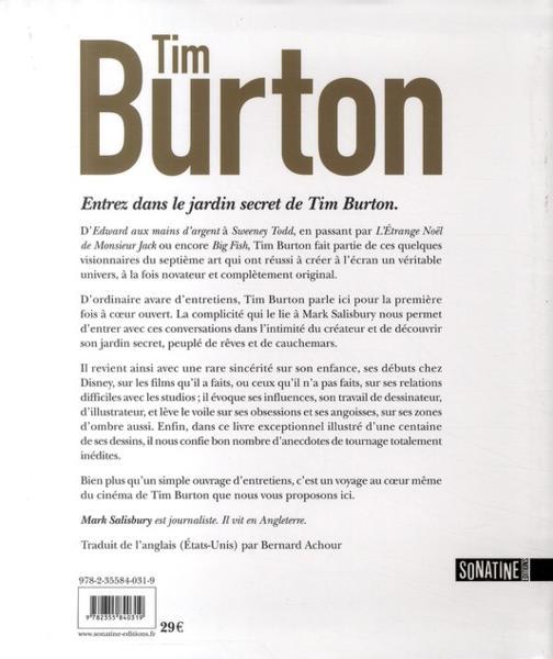 TIM BURTON, ENTRETIENS avec Mark Salisbury 23534535_5439813
