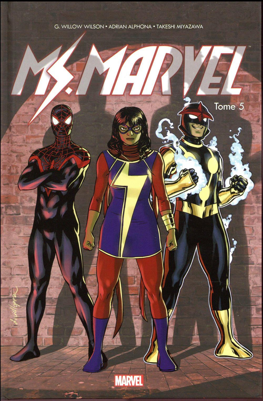 Ms. Marvel T.5  - G. Willow Wilson  - Adrian Alphona  - Takeshi Miyazawa