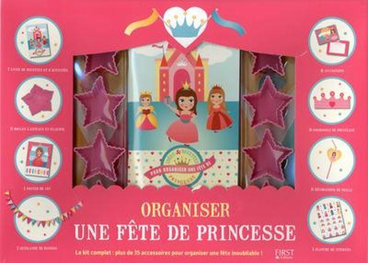 organiser une f te de princesses coffret valerie duclos france loisirs suisse. Black Bedroom Furniture Sets. Home Design Ideas