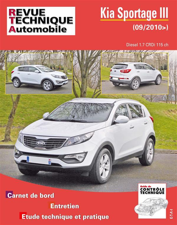 livre revue technique automobile n hs011 kia sportage. Black Bedroom Furniture Sets. Home Design Ideas