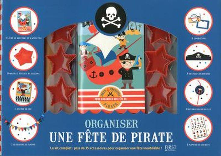 organiser une f te de pirates coffret valerie duclos france loisirs suisse. Black Bedroom Furniture Sets. Home Design Ideas
