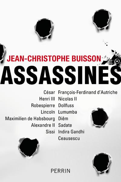 Vente  Assassines  - Jean-Christophe Buisson