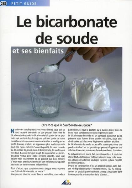 Livre le bicarbonate de soude et ses bienfaits collectif - Bicarbonate de soude bienfait ...