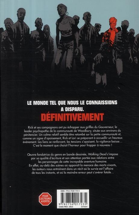 Livre walking dead t 7 dans l 39 oeil du cyclone robert - Livre de poche walking dead ...