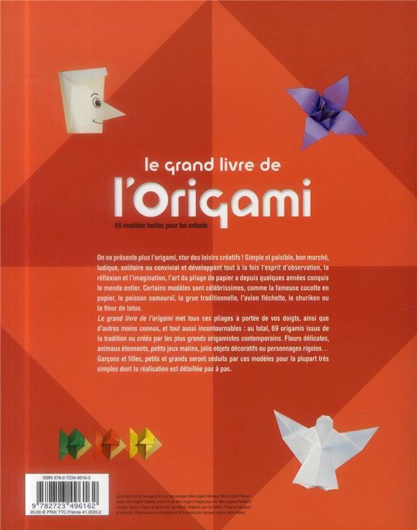 livre le grand livre de l 39 origami 60 mod les faciles. Black Bedroom Furniture Sets. Home Design Ideas