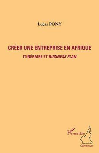 Livre cr er une entreprise en afrique itin raire et for Creer une entreprise innovante