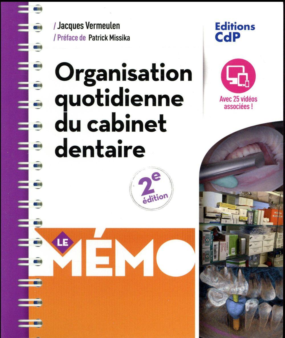 memo organisation quotidienne du cabinet dentaire vermeulen jacques livre france loisirs. Black Bedroom Furniture Sets. Home Design Ideas