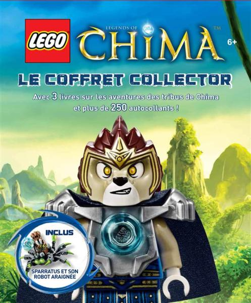 Lego ; legends of Chima ; coffret collector  - Collectif