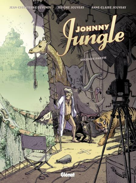 Johnny Jungle t.2  - Jean-Christophe Deveney  - Jerome Jouvray