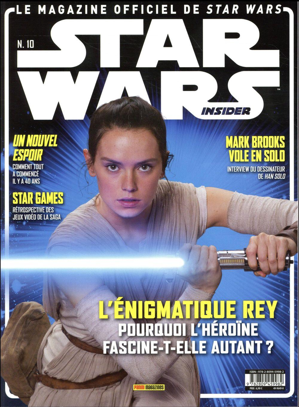 Star Wars Insider N.10 ; février-avril 2017  - Star Wars Insider