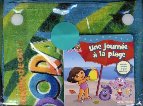 Livre dora l 39 exploratrice une journ e a la plage - Dora a la plage ...