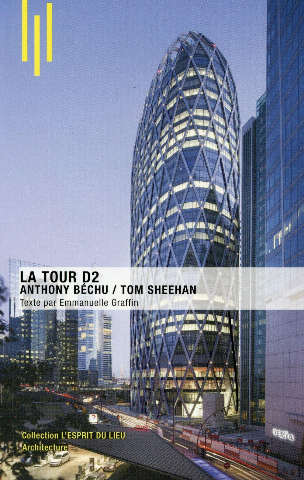 La tour D2 ; Anthony Béchu, Tom Sheehan  - Emmanuelle Graffin