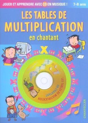 livre les tables de multiplication en chantant collectif