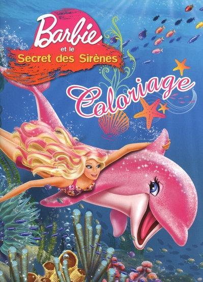 Barbie et le secret des sirenes coloriage - Barbi et le secret des sirenes 2 ...