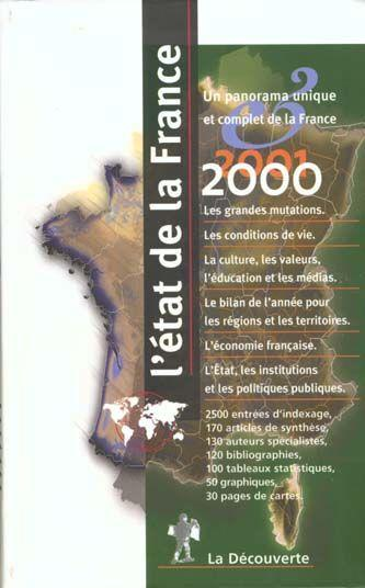 L'Etat De La France 2000-2001  - Collectif
