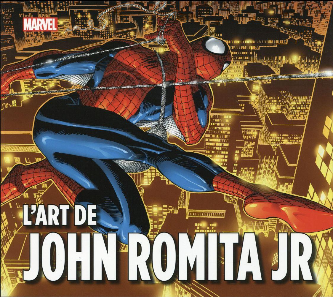 Marvel : l'art de John Romita JR.  - John Rhett Thomas  - John Jr. Romita
