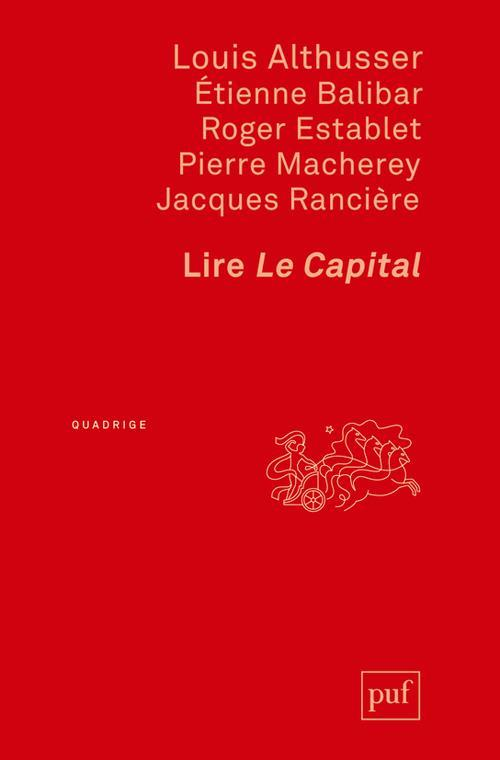 Lire Le Capital  - Collectif