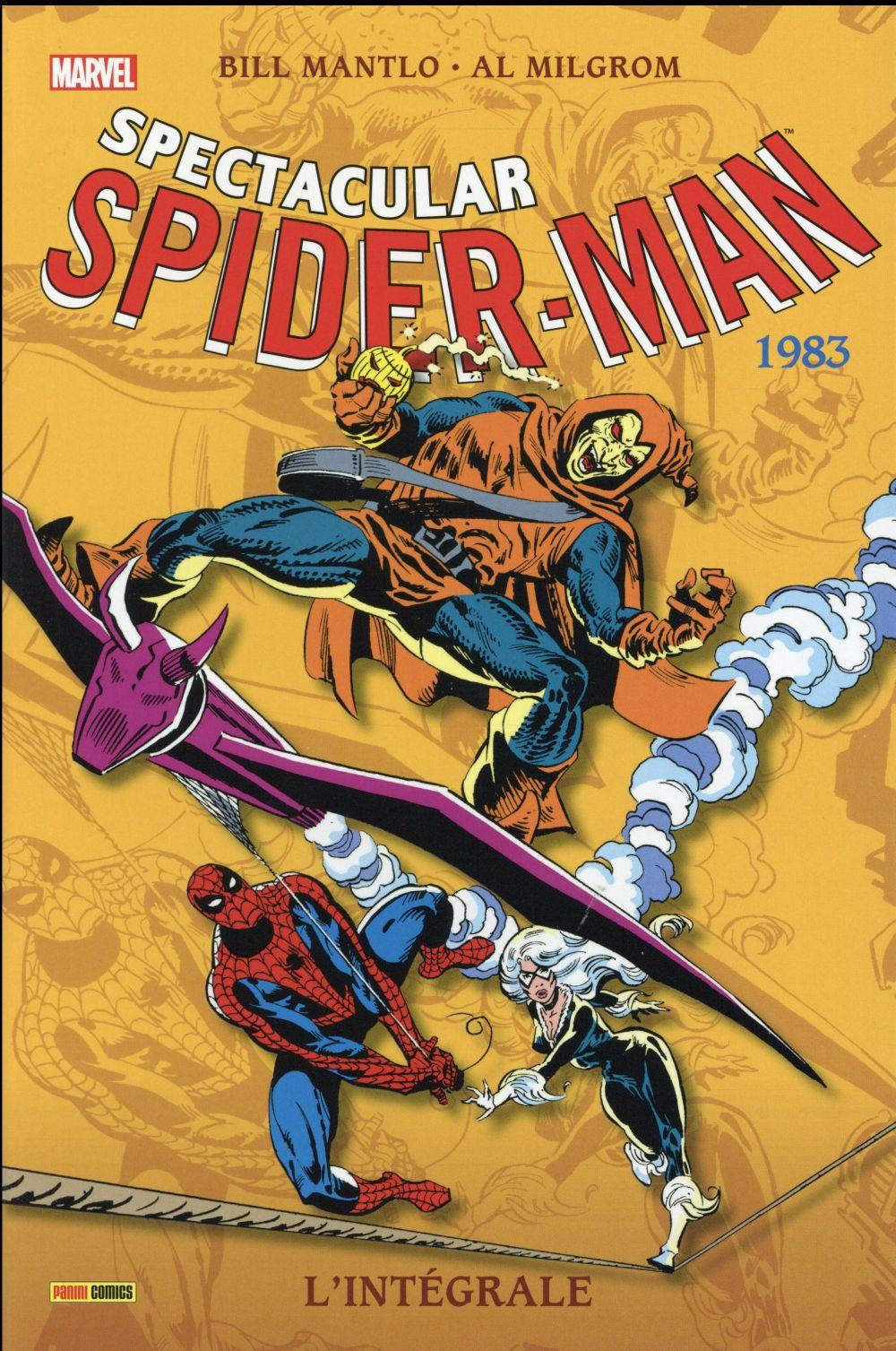 Spectacular Spider-Man ; INTEGRALE VOL.7 ; 1983  - Bill Mantlo  - Al Milgrom