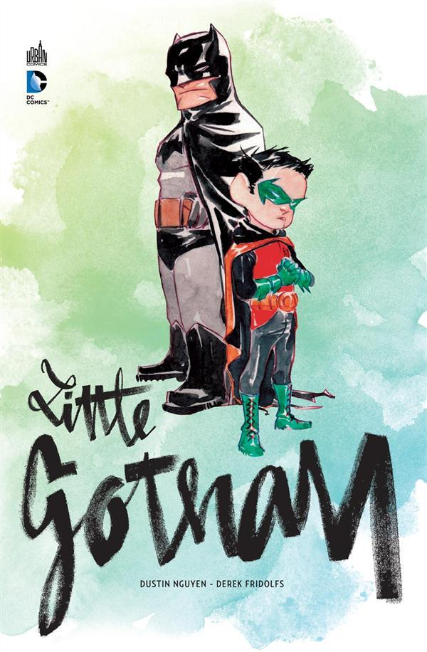 Batman ; little Gotham  - Derek Fridolfs  - Dustin Nguyen