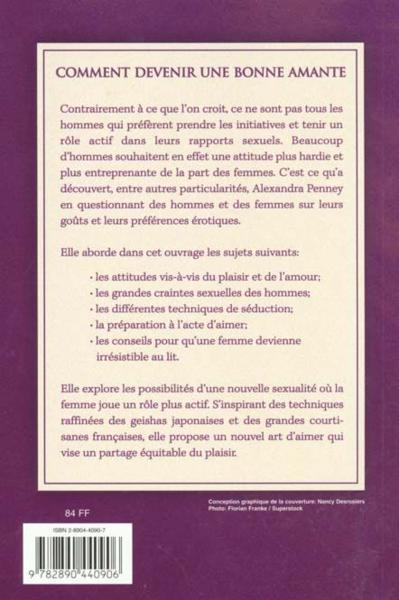 livre comment faire l 39 amour a un homme alexandra penney. Black Bedroom Furniture Sets. Home Design Ideas