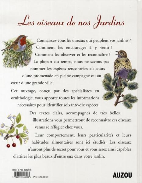 Livre les oiseaux de nos jardins golley mark mark - Les oiseaux de nos jardins et de nos campagnes ...