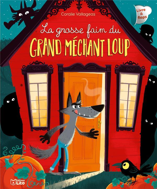 Vente  La grosse faim du grand méchant loup  - Coralie Vallageas