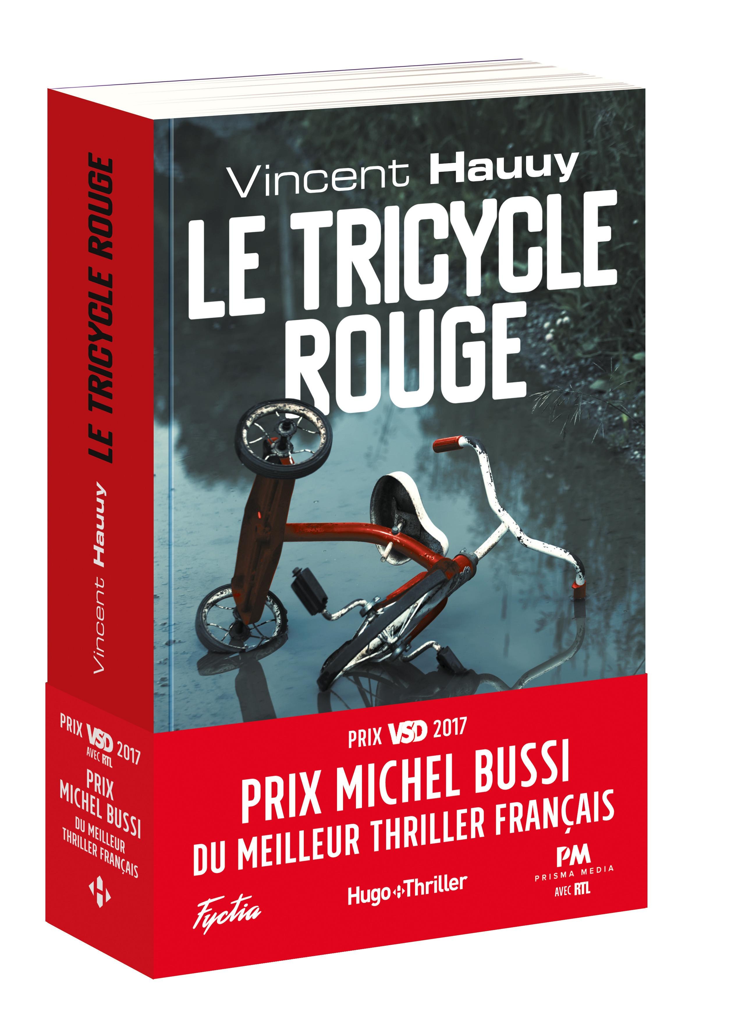 Vente  Le tricycle rouge  - Collectif  - Vincent Hauuy