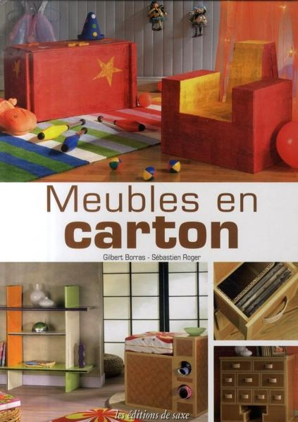 livre meubles en carton gilbert borras. Black Bedroom Furniture Sets. Home Design Ideas